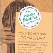Combines cocoa butter with pure rosemary & lavender oil to deeply nourish and condition your hair.  Use in conjunction with our solid shampoos (original, dry) to condition your hair and provide extra body and shine. A little goes a long way.  Directions: After shampooing, apply directly to the scalp and lather. Massage to the ends. Rinse & repeat if required.  Ingredients: Saponified Sweet Almond Oil, Saponified Cocoa Butter, Rosemary Oil, & Lavender Oil
