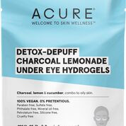 Detox-defy and de-puff the appearance of your undereye area with activated charcoal and lemon extract.