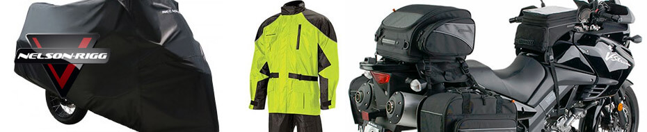 Nelson-Rigg Motorcycle Luggage & Rain Gear