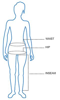 Womens Pants Size Chart