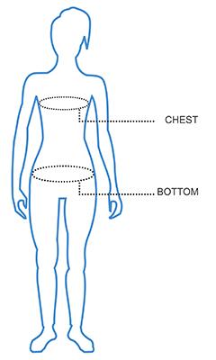 Womens Vest Size Chart