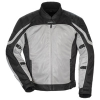 Tour Master Women's Intake Air 4.0 Mesh Jacket Silver