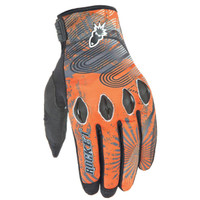 Joe Rocket Rocket Nation 2.0 Gloves Orange