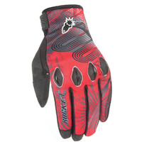 Joe Rocket Rocket Nation 2.0 Gloves Red