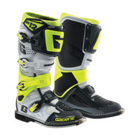 Gaerne SG-12 Colored Boots - White/Black/Neon