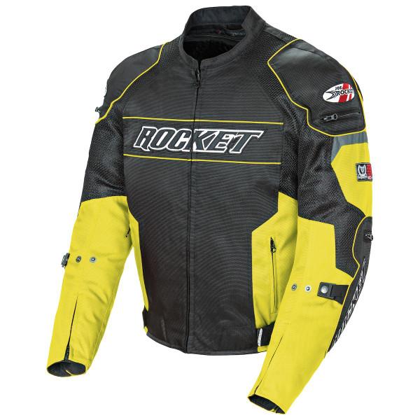 Joe Rocket Resistor Mesh Jacket Yellow