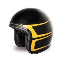 Fly Street .38 Graphics Helmet Black/Yellow