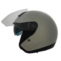 Vega VTS1 Open Face Helmet White