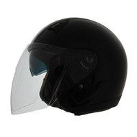 Vega VTS1 Open Face Helmet Black