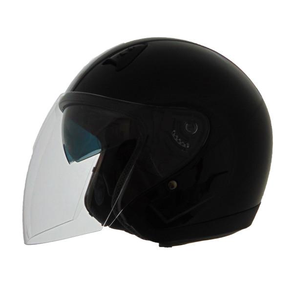 Vega VTS1 Open Face Helmet Black