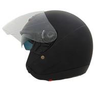 Vega VTS1 Open Face Helmet Flat Black