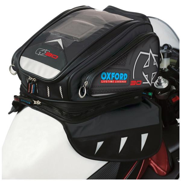 Oxford X30 Magnetic Tank Bag Black