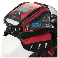 Oxford X30 Magnetic Tank Bag Red
