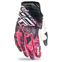 Fly Racing Women's Kinetic Glove Pink