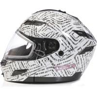 GMax DSG GM54S AZTec Modular Helmet White