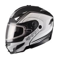GMax GM54S Terrain Modular Multi Helmet Drak White
