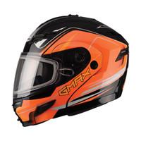 GMax GM54S Terrain Modular Multi Helmet Orange