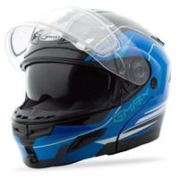 GMax GM54S Terrain Modular Multi Helmet Blue