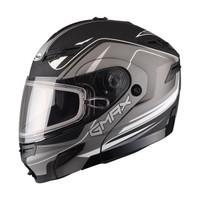 GMax GM54S Terrain Modular Multi Helmet  dark Silver