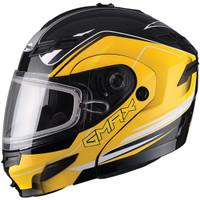 GMax GM54S Terrain Modular Multi Helmet yellow