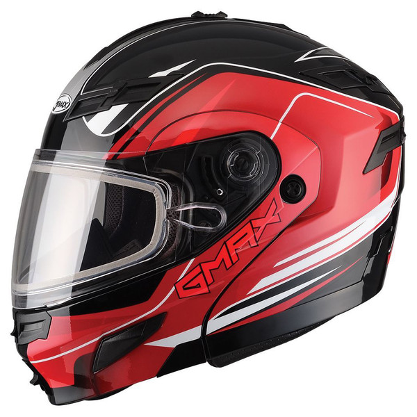 GMax GM54S Terrain Modular Multi Helmet  Red