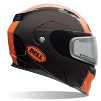 Bell Revolver Evo Rally Snow Helmet with Electric Shield Orange