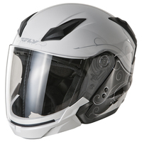 Fly Tourist Cirrus Helmet Silver