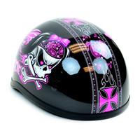 Skid Lid Bad To The Bone Half Helmet 5
