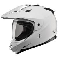 GMax GM11D Dual Sport Helmet White