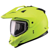 GMax GM11S Yellow Snow Sport Helmet