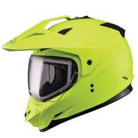 GMax GM11S Yellow Snow Sport Helmet