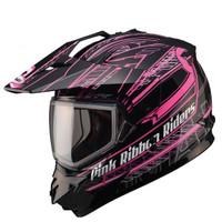 GMax GM11S Pink Ribbon Snow Sport Helmet