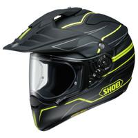 Shoei Hornet X2 Navigate Adventure Helmet Yellow