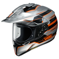 Shoei Hornet X2 Navigate Adventure Helmet Silver