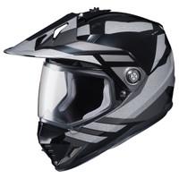 HJC DS-X1 Lander Silver Helmet