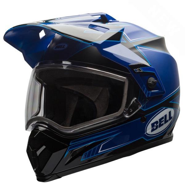 Bell MX-9 Adventure Blockade Snow Helmet with Electric Shield 1