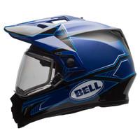 Bell MX-9 Adventure Blockade Snow Helmet with Electric Shield 2
