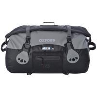 Oxford Aqua T-50 Roll Bag Black/Gray