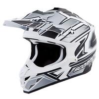 Scorpion VX-35 Finnex Helmet Silver