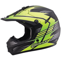 GMax Youth GM46.2X Race Helmet  Yellow