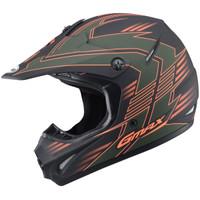 GMax Youth GM46.2X Race Helmet Olive