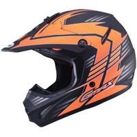 GMax Youth GM46.2X Race Helmet Orange