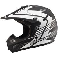 GMax Youth GM46.2X Race Helmet White