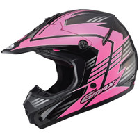 GMax Youth GM46.2X Race Helmet Pink