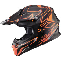 GMax MX86 Step Helmet Orange