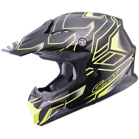 GMax MX86 Step Helmet Yellow