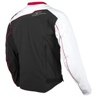 Speed & Strength Hammer Down Jacket White Back View