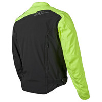 Speed & Strength Hammer Down Jacket Hi Viz Back View