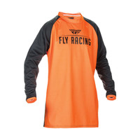 Fly Racing Windproof Jersey Orange