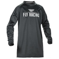 Fly Racing Windproof Jersey Black